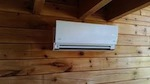 Mini split heat pump indoor head ugly picture