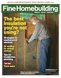 Fine Homebuilding Issue 254 November 2015 cover image