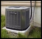 Heat Pump traditional air to air picture of outdoor unit